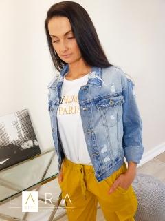 ba01517a930c Štýlová džínsová bunda