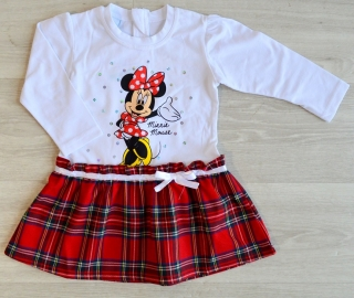 Šaty Minnie Mouse ( 74, 80, 86, 92, 98, 104,110, 116)